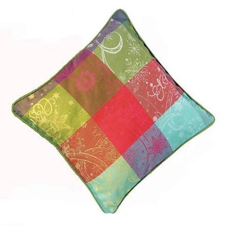 Cushion Cover L Mille Couleurs Paris, Cotton - 2ea picture