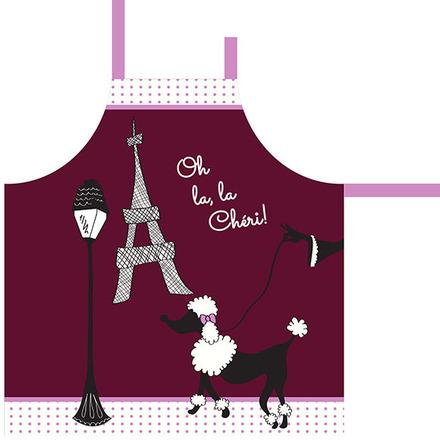 Oh La la Cherie Pourpre Apron picture