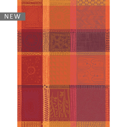 """Mille Wax Ketchup Kitchen Towel 22""""x30"""", 100% Cotton picture"""