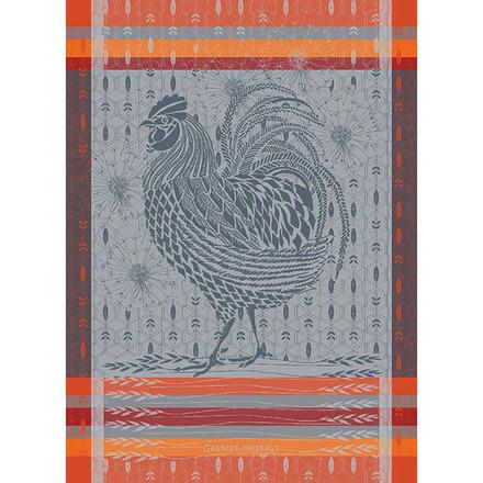 Coq Design Orange Kitchen Towel picture