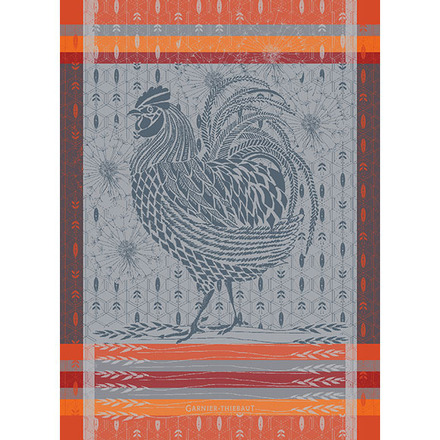 Coq Design Orange Kitchen Towel picture