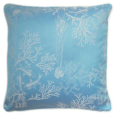 "Mille Coraux Ocean Cushion Cover 16""x16"", 100% Cotton picture"