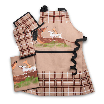 Dog and Friends Brownie Kitchen Set picture