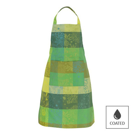 Apron Mille Couleurs Lime, Coated - 1ea picture