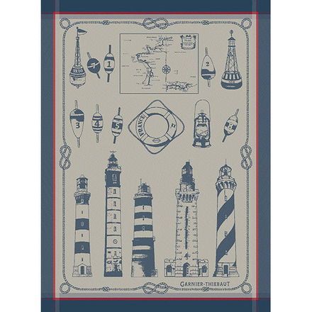 Phares Et Balises Bretagne Kitchen Towel, Cotton picture