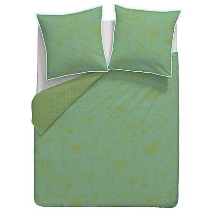 "Mille Couleurs Turquoise Duvet Cover 110""x93"", 100% Cotton picture"