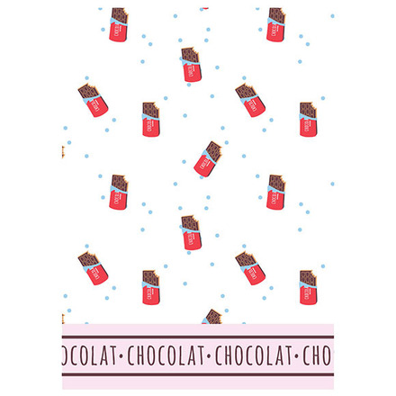 Le Chocolat Chaud Printed Kitchen Towel picture