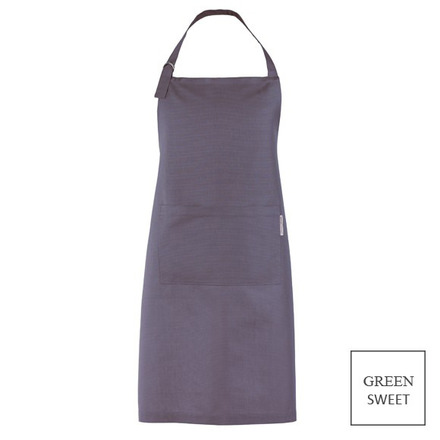 """Apron Canelle Argent 31x39"""", Green Sweet picture"""