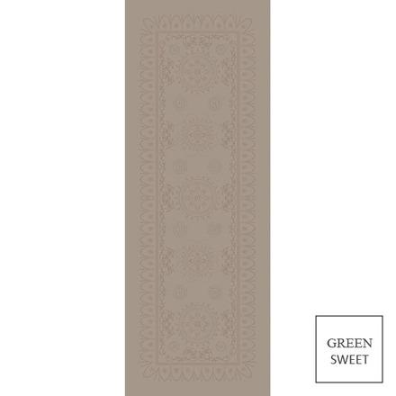 "Eloise Macaron Tablerunner 21""x91"", Green Sweet picture"