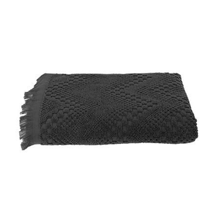 Boheme Grey Bath Towel, Cotton picture