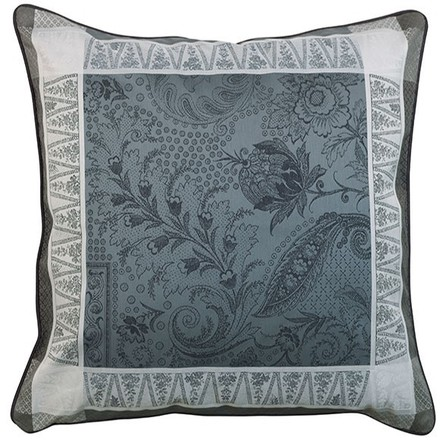 "Persina Noir Cushion Cover 20""x20"", Cotton-2ea picture"