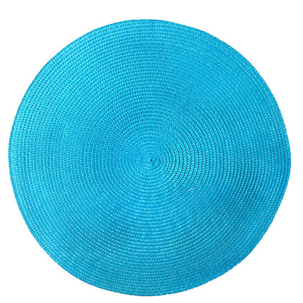 Pack of 4 Cascade Blue Vinyl Placemat picture