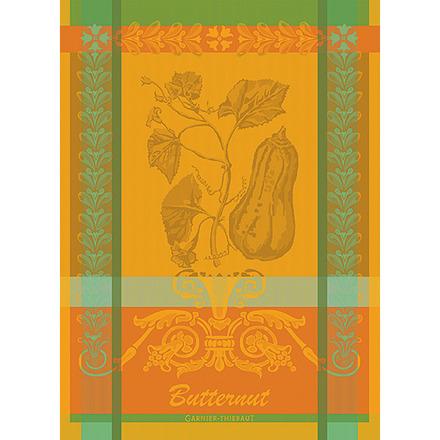 """Butternut Orange Kitchen Towel 22""""x30"""", 100% Cotton picture"""