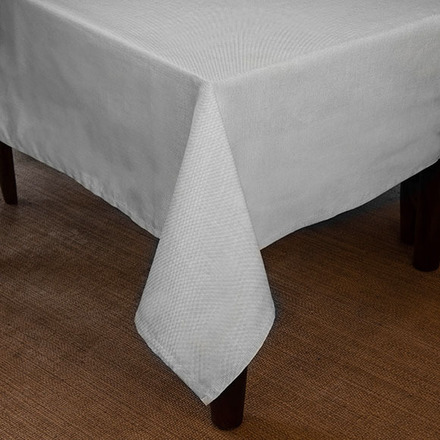 Natte White Tablecloth Rectangle 60x96 picture