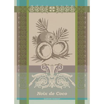 Noix De Coco Tropiques Kitchen Towel, Cotton picture