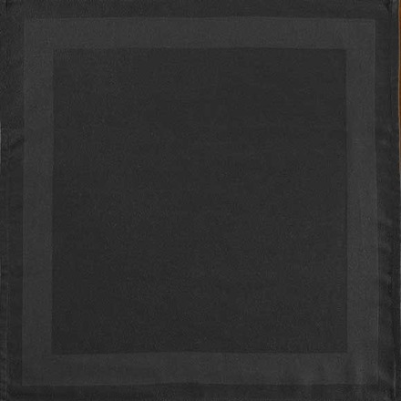 Pack of 12 Satin Band Black Polyester Napkin picture