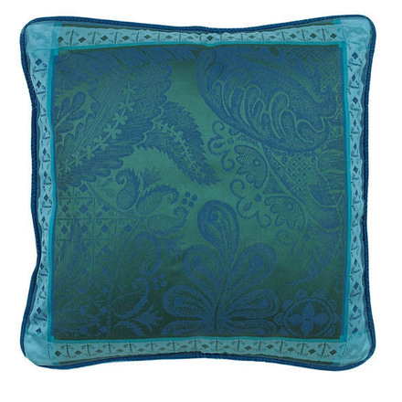 """Cushion Cover Isaphire Emeraude 20""""x20"""" , Set of 2 picture"""