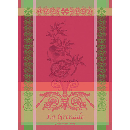 "Grenade Rose Kitchen Towel 22""x30"", 100% Cotton picture"