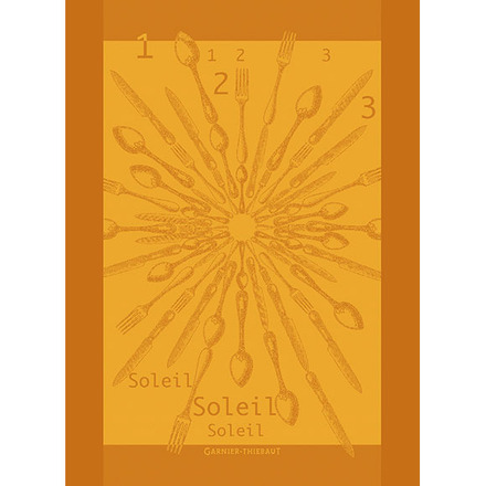 "1 2 3 Soleil Tor Lumiere Kitchen Towel 22""x30"" picture"