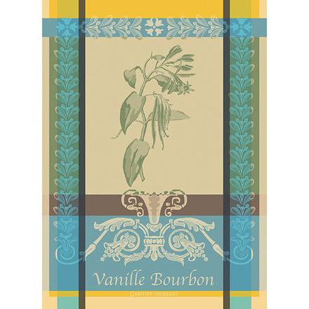 """Vanille Bourbon Eden Kitchen Towel 22""""x30"""", 100% Cotton picture"""