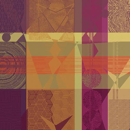 "Mille Tingari Terre Rouge Napkin 22""x22"", 100% Cotton picture"