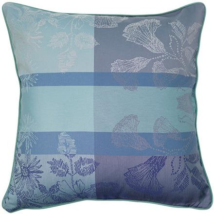 """Mille Fiori Givre Cushion Cover  16""""x16"""", 100% Cotton picture"""