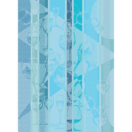 Verrerie Blue Kitchen Towel, Cotton picture