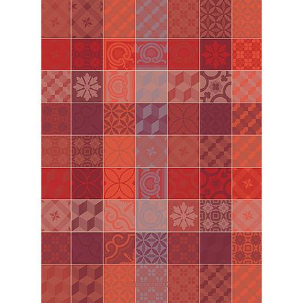 Mille Tiles Terracotta Kitchen Towel, Cotton picture