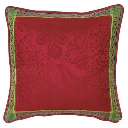 """Isaphire Rubis Cushion Cover  20""""x20"""", 100% Cotton picture"""