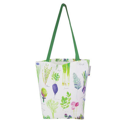 "Mille Potager Printemps Tote bag 15""x15"", 100% Cotton picture"