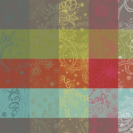"""Mille Couleurs Paris Napkin 22""""x22"""", 100% Cotton picture"""