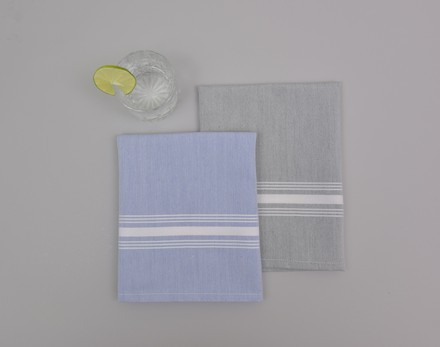 Reverse Bistro Sky blue Napkin, Cotton-4ea picture