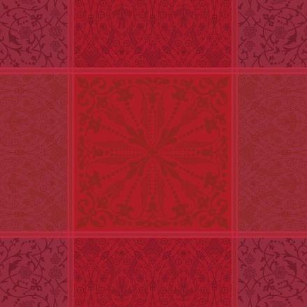 Napkin Cassandre Grenat, cotton - 4ea picture