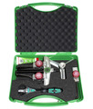 Kukko KS-2030-1+S 2- & 3- Slender Arm Puller Combination Set, With Wera Ratchet Wrench