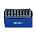 Turnus TN331-003P Dot-Style Letter Stamps