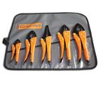 Grip-On GRGK500 5-Piece General Purpose Locking Pliers Kit