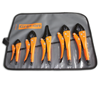 Grip-On GRGK500 5-Piece General Purpose Locking Pliers Kit
