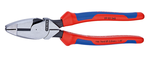 Knipex KN0902240 9 1/2-Inch Linemans Pliers (Usa) - Knipex Comfort Handles