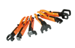 Grip-On GR90006 6-Pc Axial Clamp Set with Storage Rack 7-Inch Axial Clamps