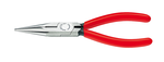 Knipex KN2501160 Chain Nose Side Cutting Pliers, Straight Jaws