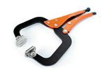 Grip-On GR22412 12-Inch Locking C-Clamp With Swivel Tips