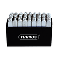 Turnus TN331-001 Nickel-Plated Letter Stamps