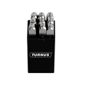 Turnus TN330-001 Nickel-Plated Number Stamps