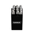 Turnus TN330-001 Nickel-Plated Number Stamps