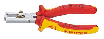 Knipex KN1106160 6 1/4-Inch End Wire Strippers - 1000V Insulated picture