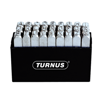 Turnus TN331-001 Nickel-Plated Letter Stamps picture