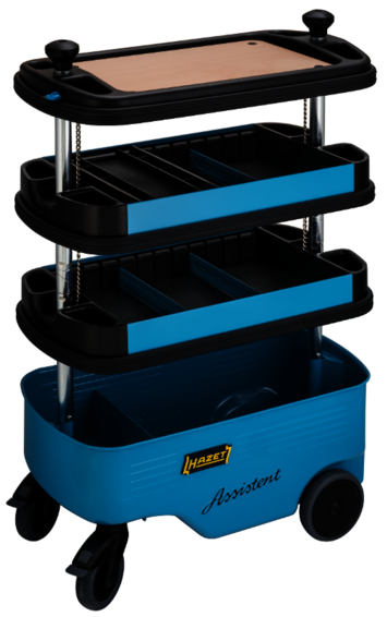 Hazet HZ166C Collapsible Tool Trolley Assistent picture