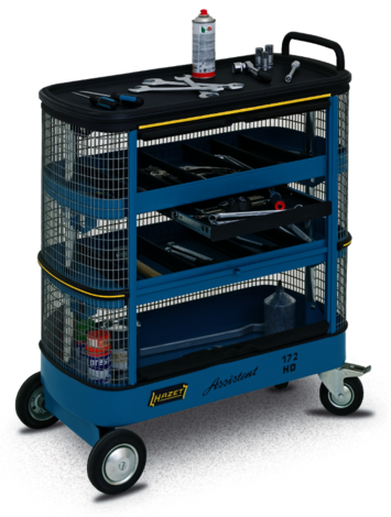 Hazet HZ172HD Wire Mesh Tool Trolley Assistent picture