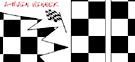"""Checker Board , 6"""" x 8"""" Decal picture"""