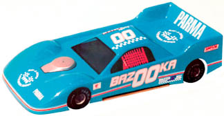 """1/24 Dirt Outlaw Oval Body  4.5"""" WB - .010 Clear picture"""